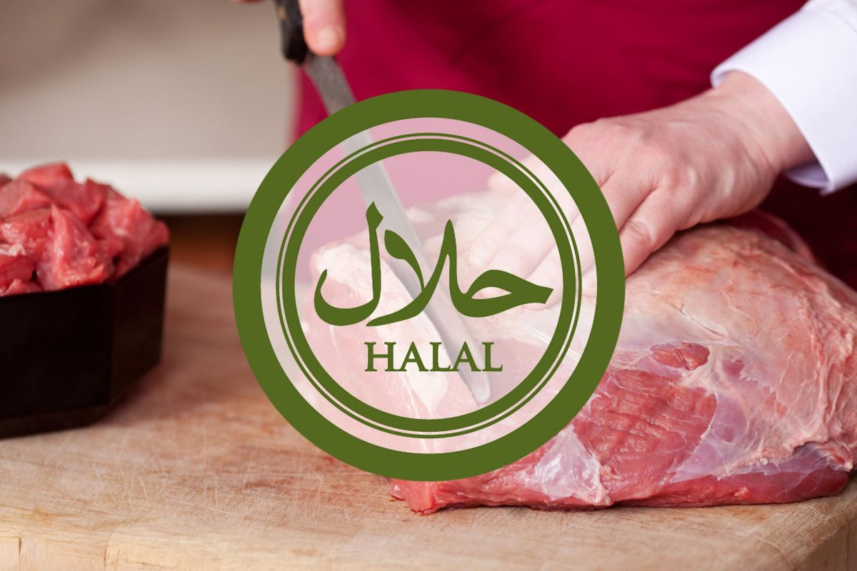 Process of Preparing Halal Meat